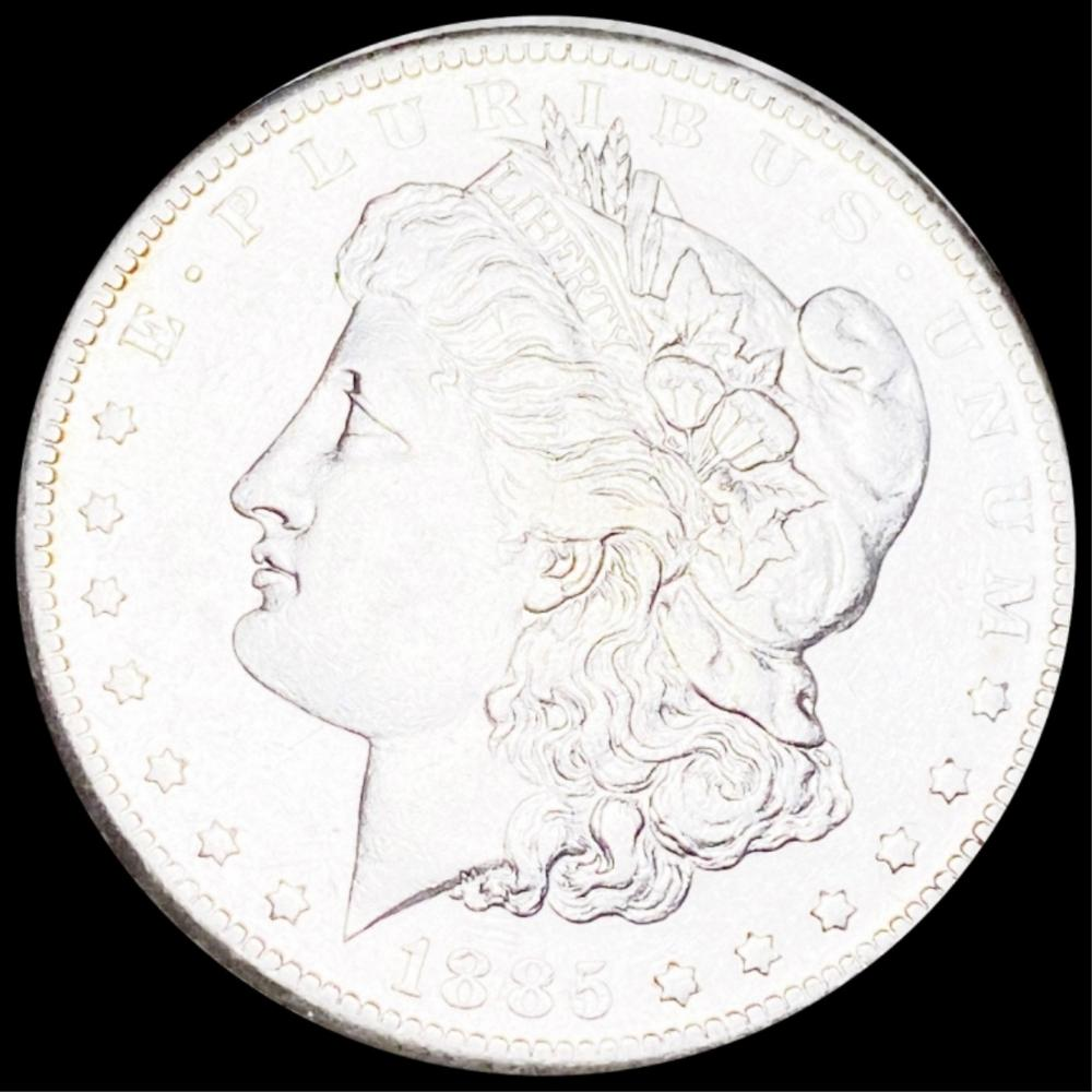 1885-S Morgan Silver Dollar UNCIRCULATED