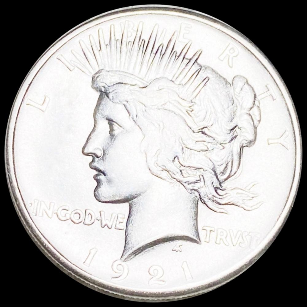 1921 Silver Peace Dollar CLOSLEY UNC