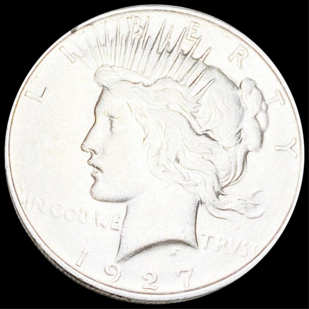 1927-D Silver Peace Dollar CLOSELY UNC