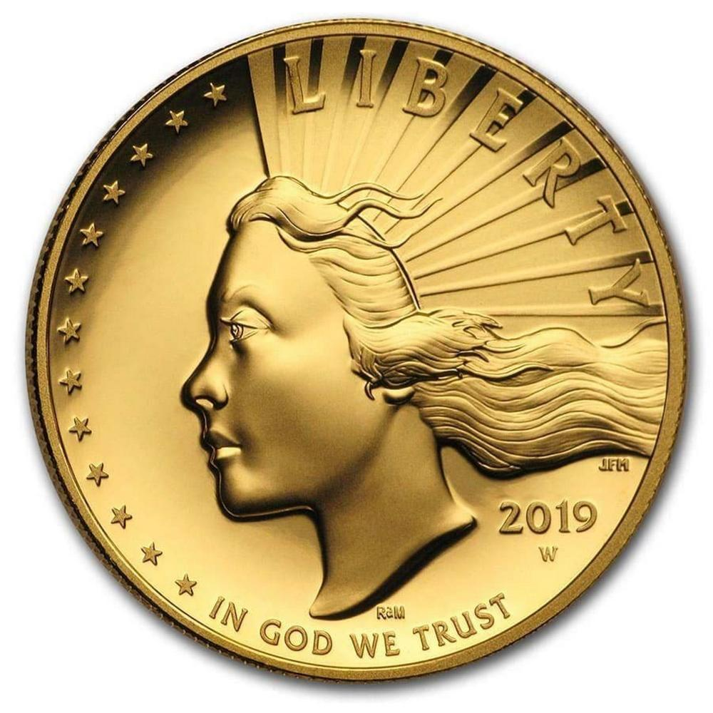 2019-W American Liberty High Relief Gold Coin UNCz