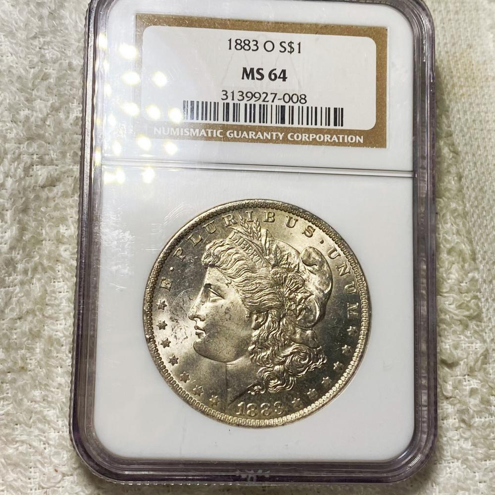 1883-O Morgan Silver Dollar NGC - MS64