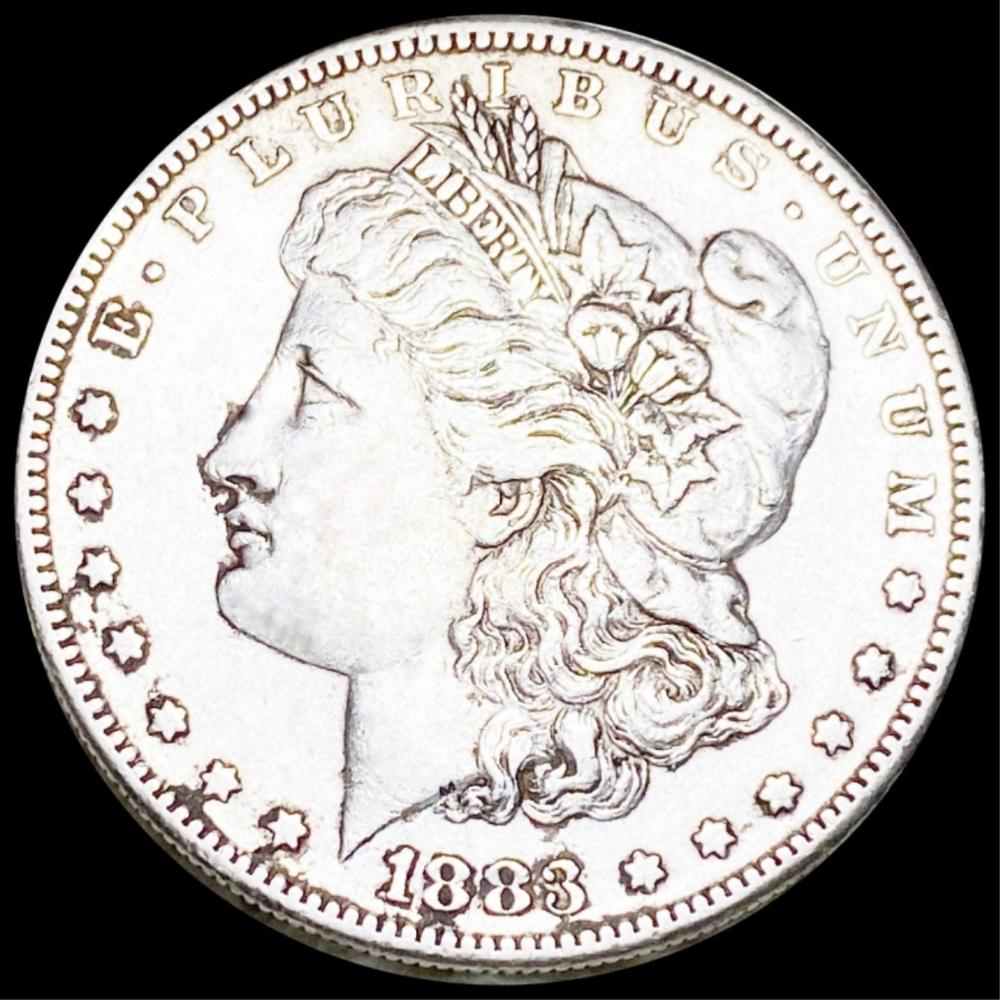 1883-S Morgan Silver Dollar LIGHT CIRC