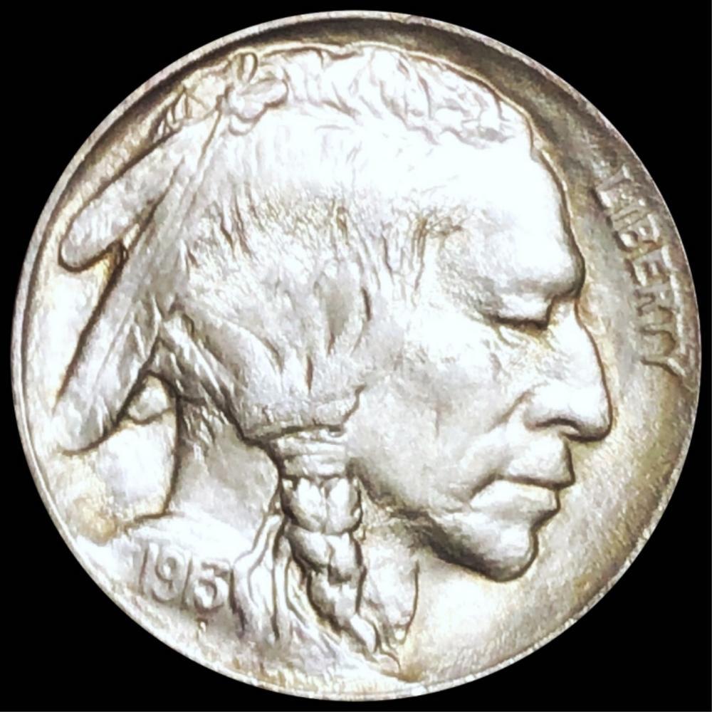 1913 TY2 Buffalo Head Nickel UNCIRCULATED