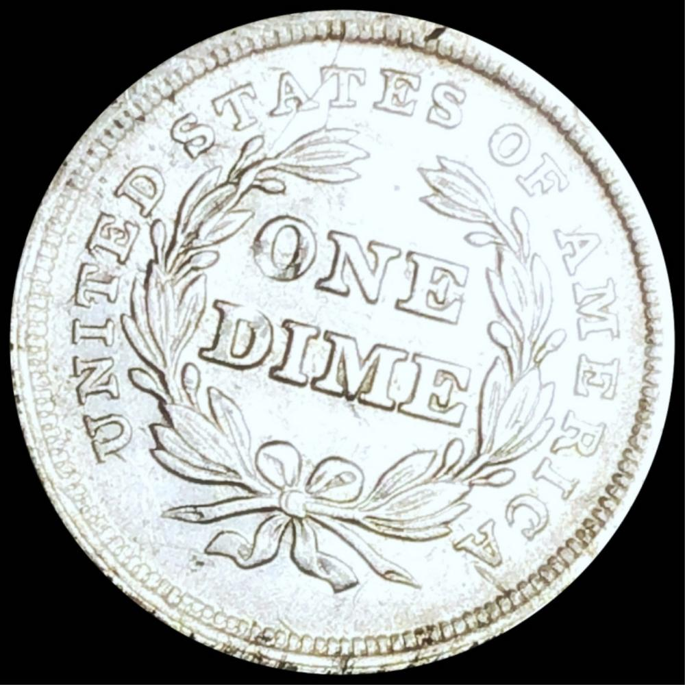 1839 Seated Liberty Silver Dime UNCIRCULATED