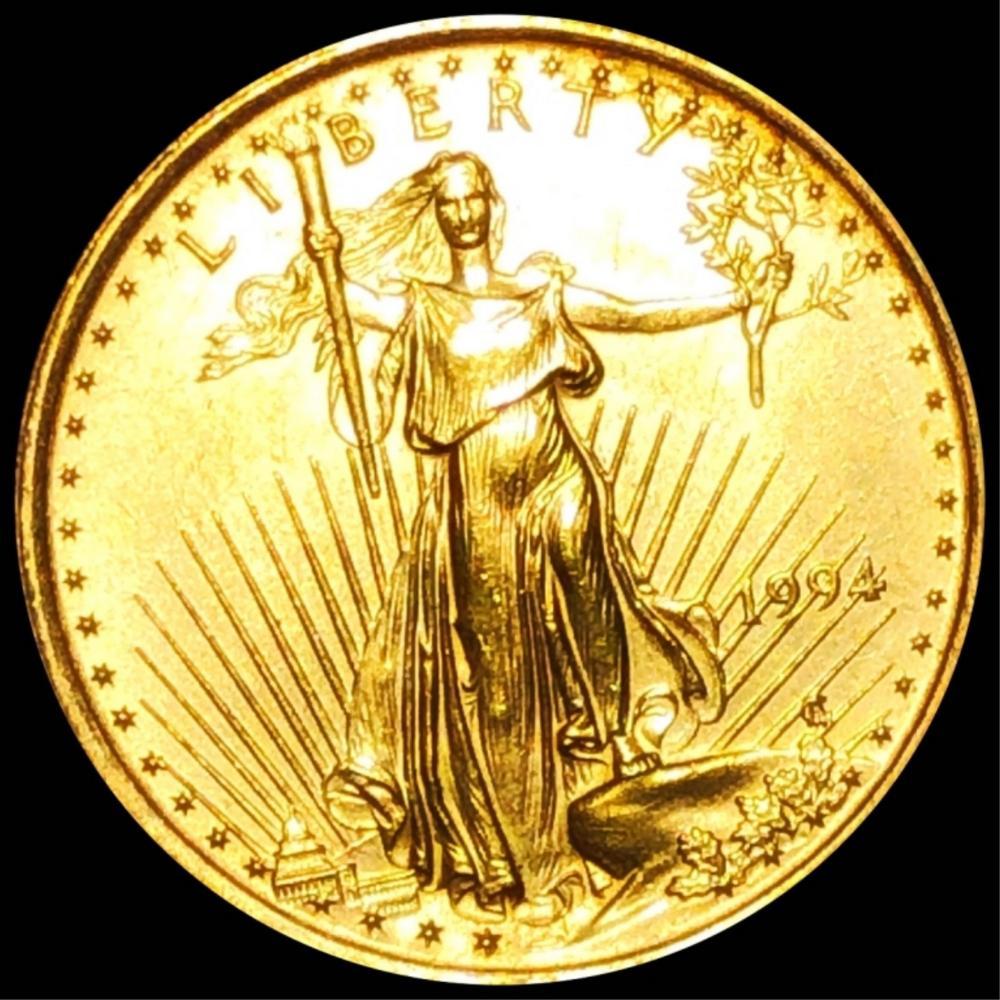 1994 $10 Gold Eagle UNCIRCULATED 1/4Oz