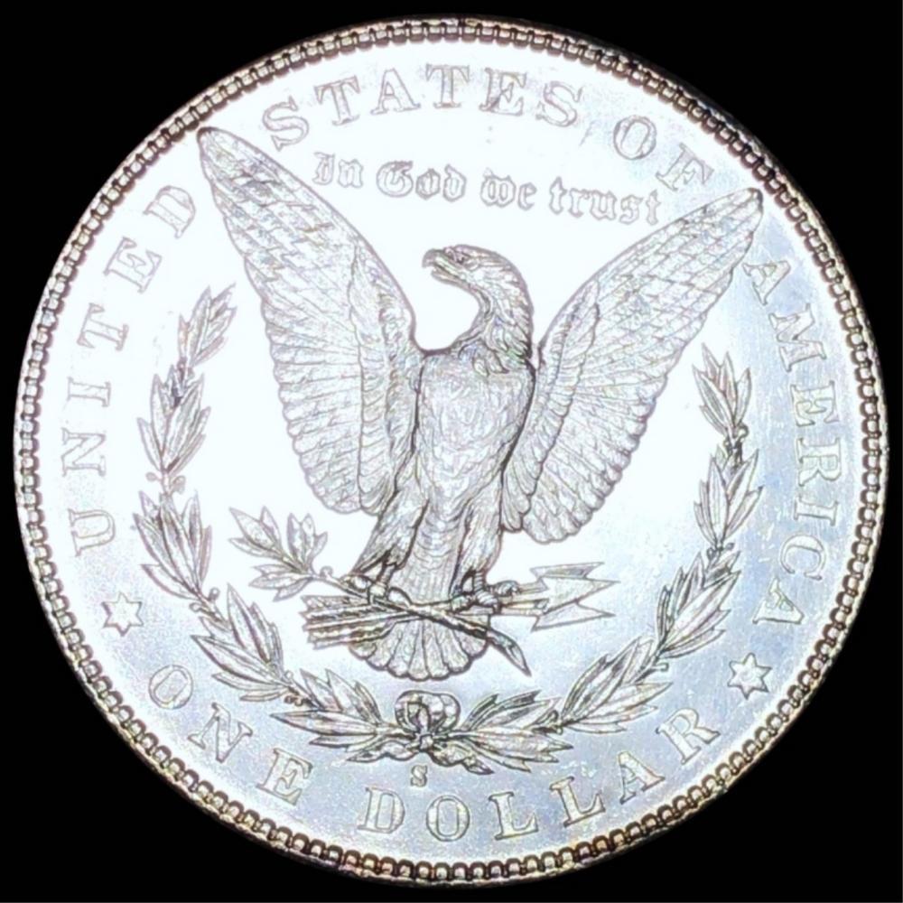 1881-S Morgan Silver Dollar CHOICE BU PL