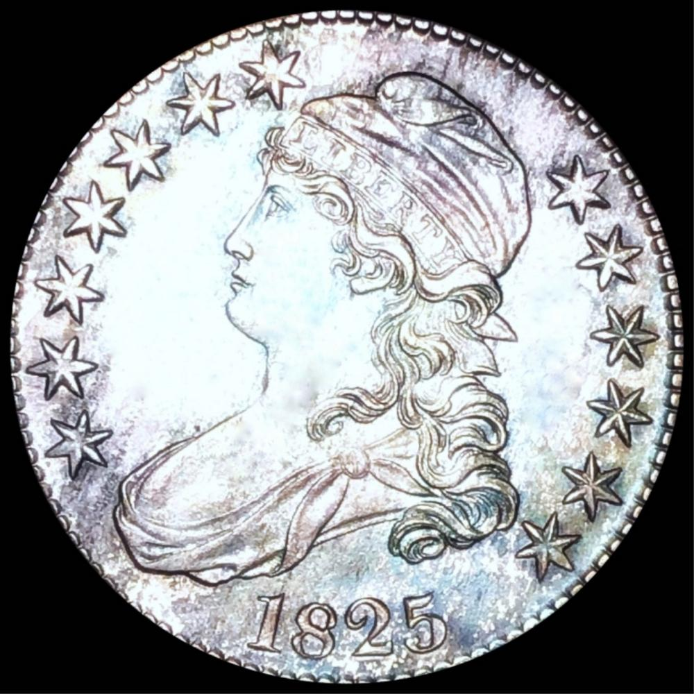 1825 Capped Bust Half Dollar UNCIRCULATED