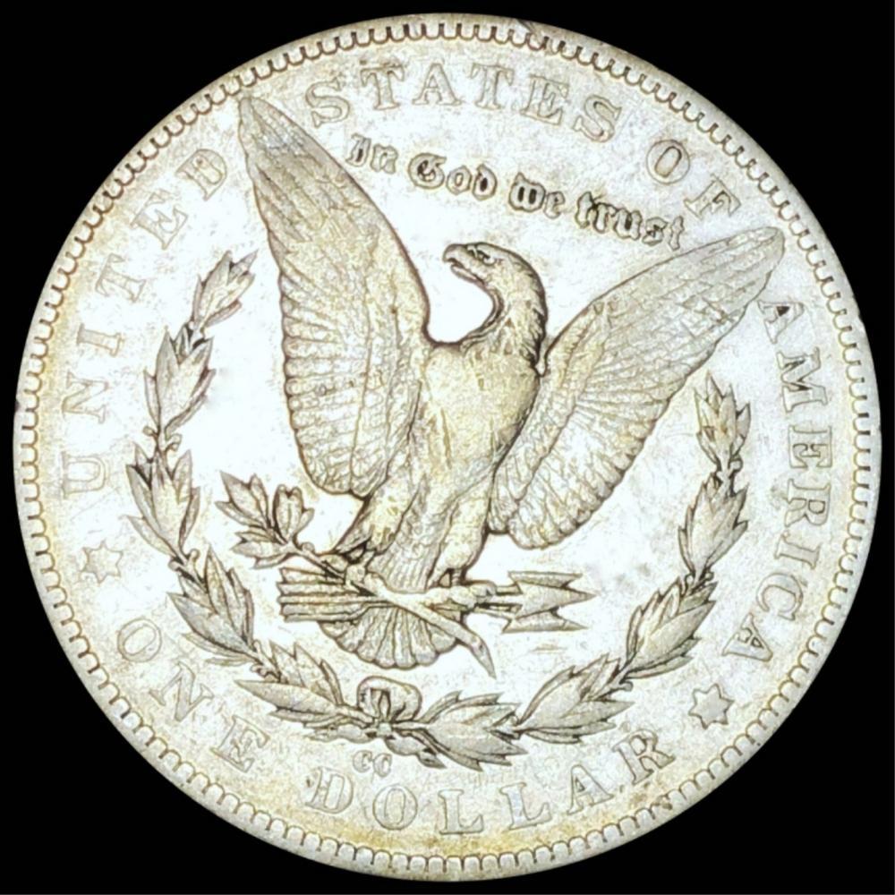 1885-CC Morgan Silver Dollar LIGHT CIRC