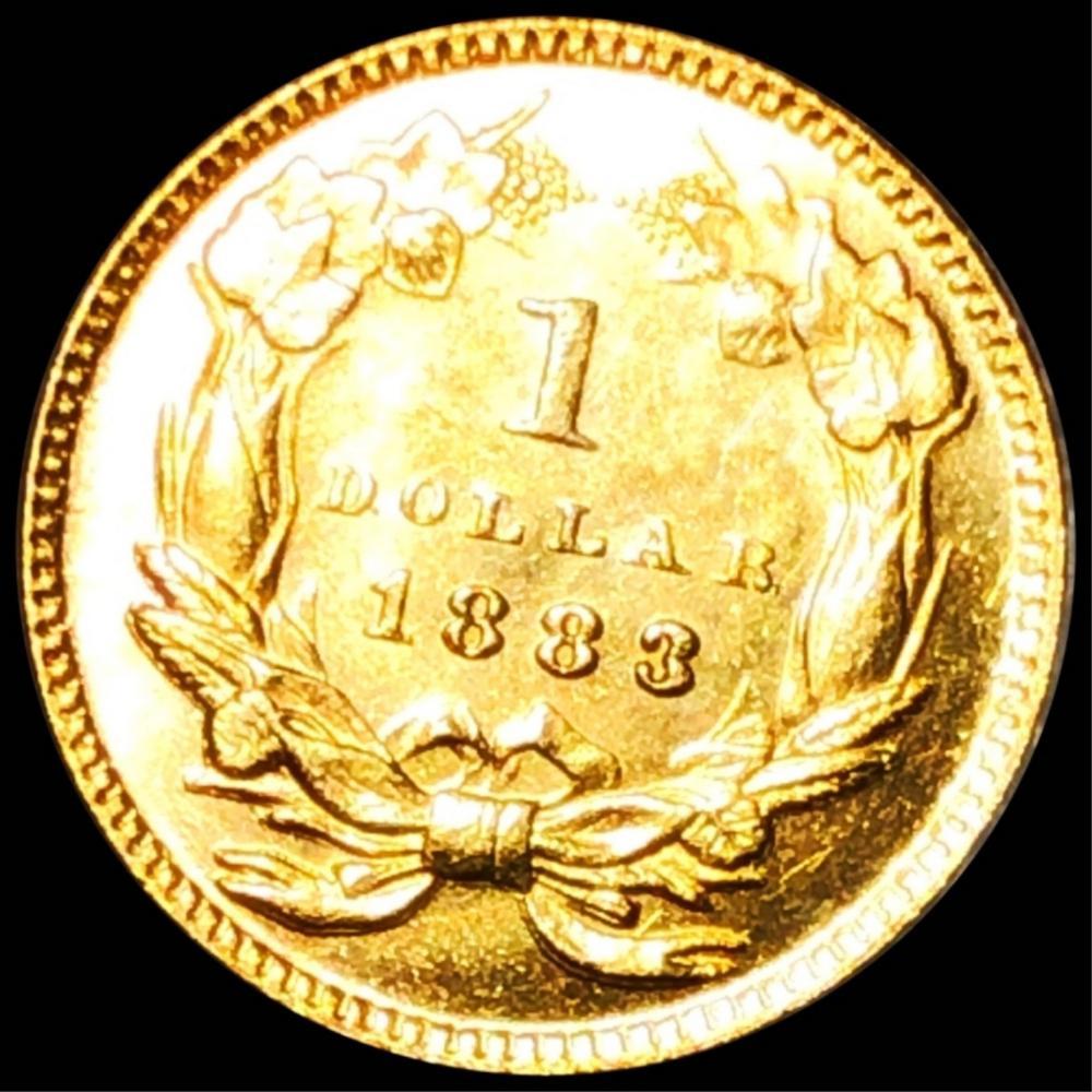 1883 Rare Gold Dollar UNCIRCULATED PL