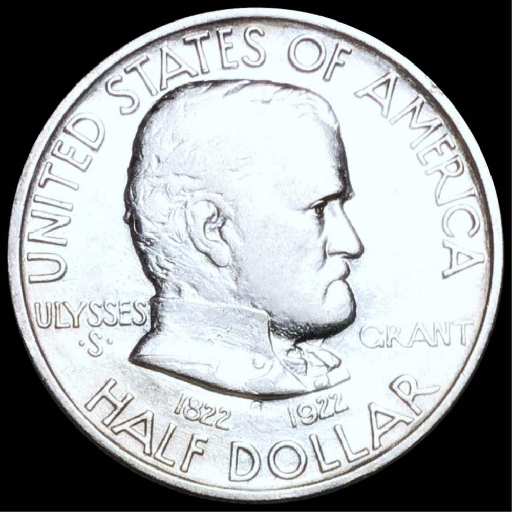 1922 Ulysses S. Grant Half Dollar UNCIRCULATED