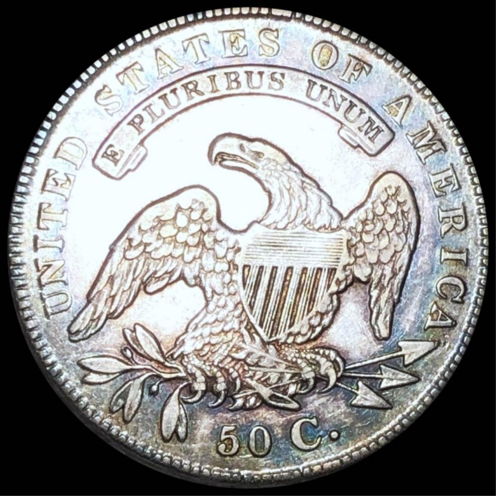 1836 Capped Bust Half Dollar XF