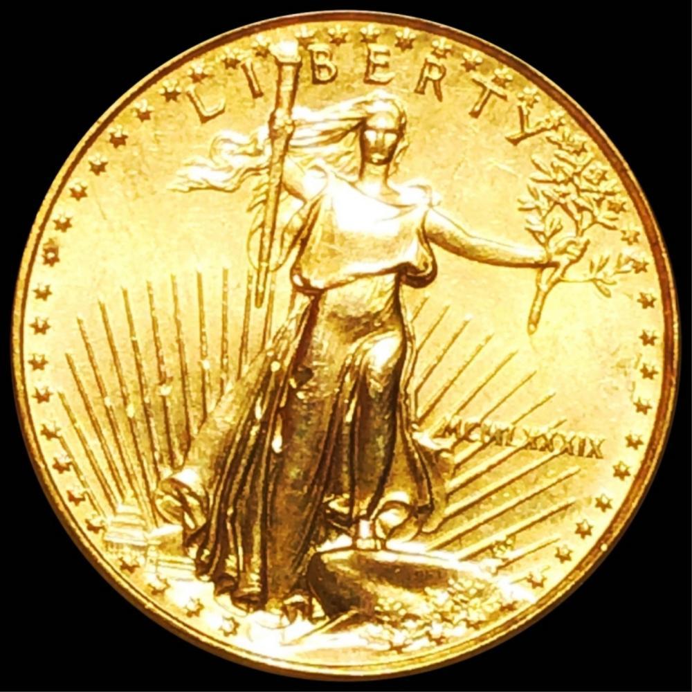1986 $10 Gold Eagle UNC 1/4Oz