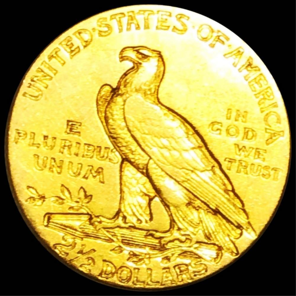 1908 $2.50 Gold Quarter Eagle ABOUT UNC