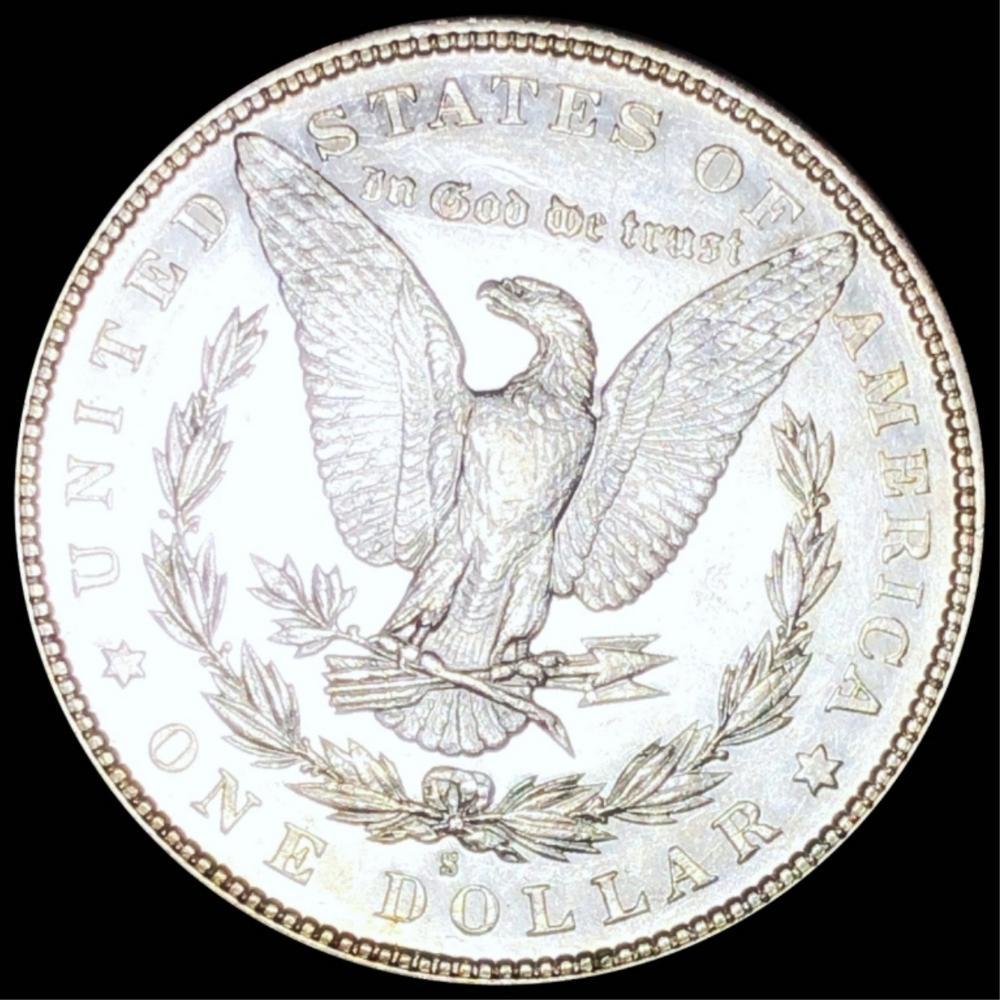 1887-S Morgan Silver Dollar UNCIRCULATED