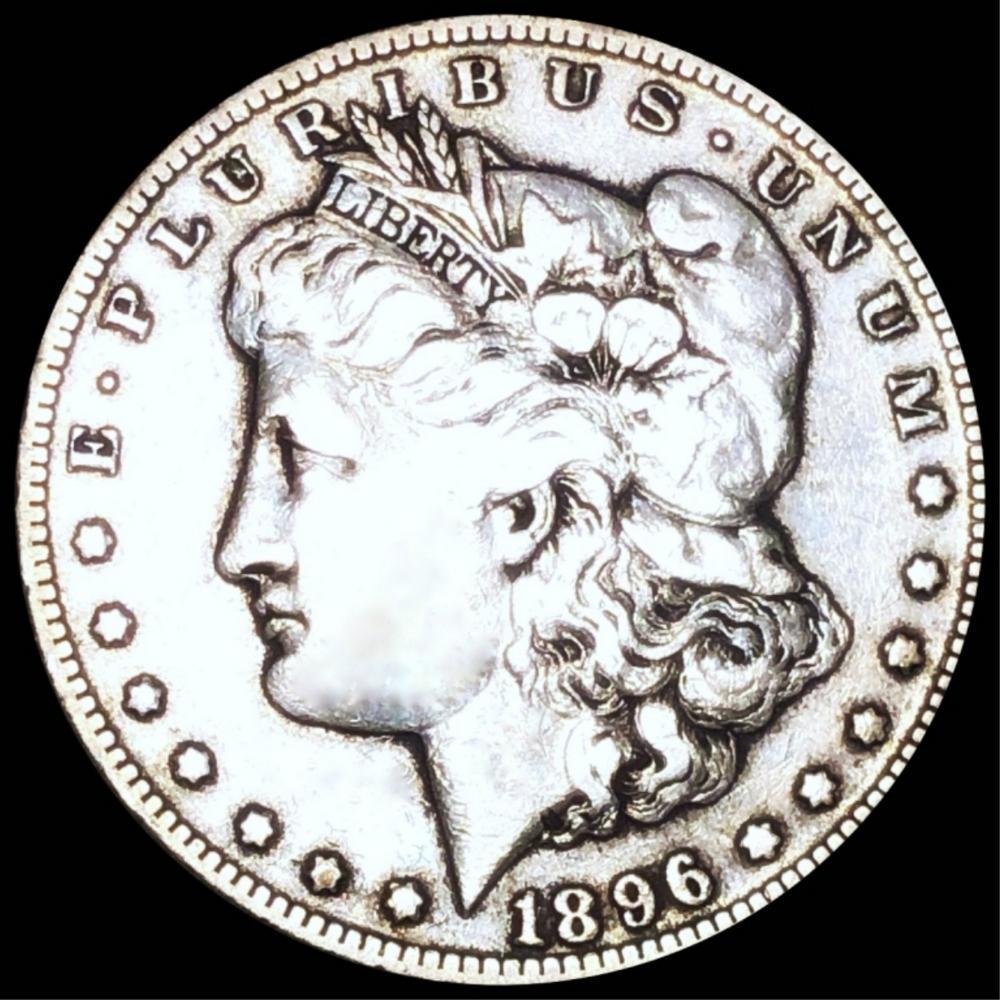1896-S Morgan Silver Dollar NICELY CIRCULATED