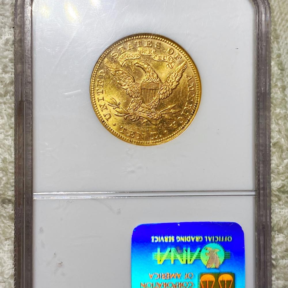 1893 $10 Gold Eagle NGC - MS62