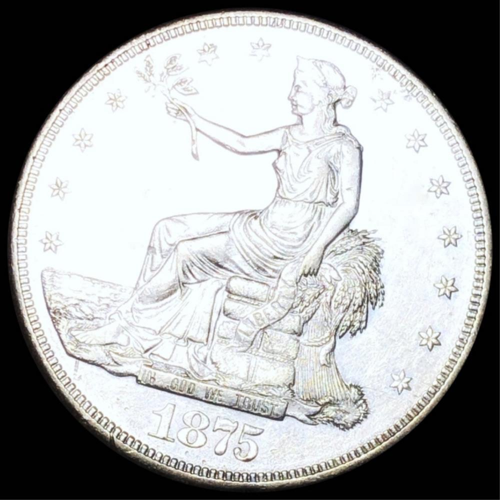 1875 Silver Trade Dollar UNCIRCULATED
