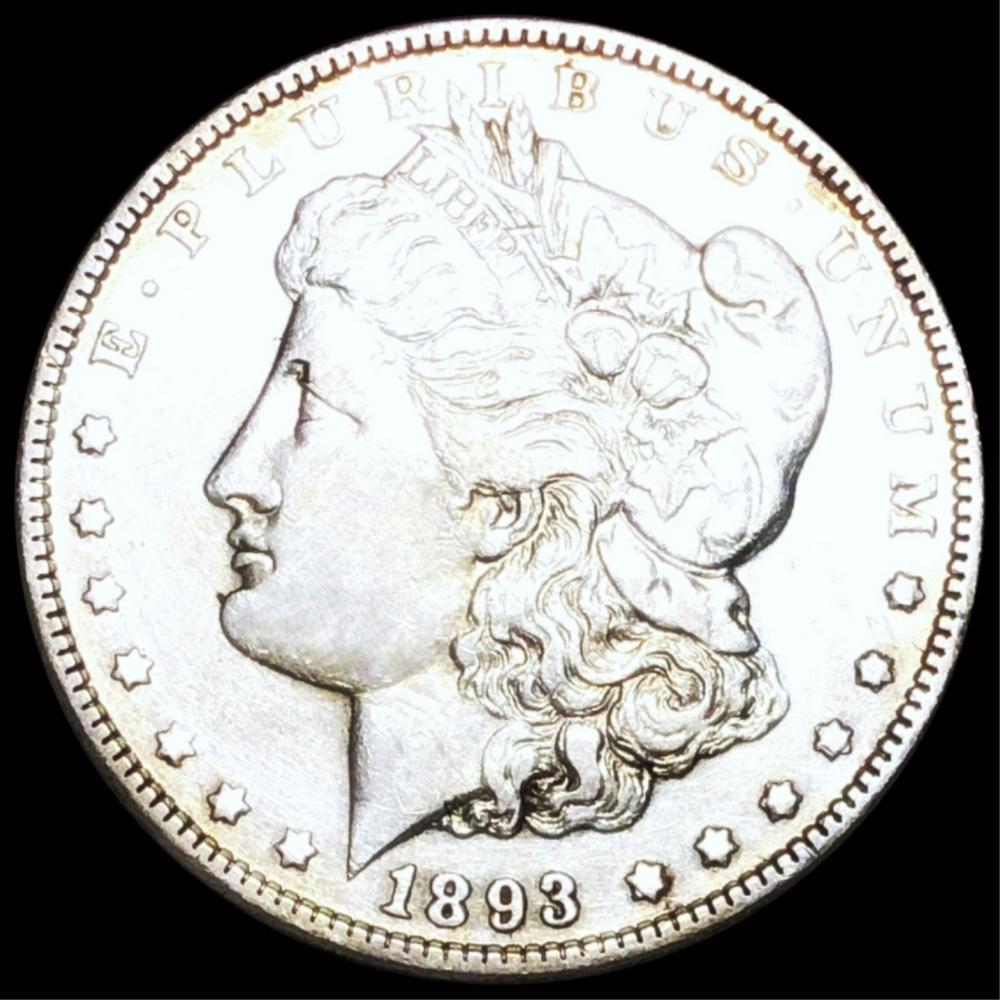 1893 Morgan Silver Dollar CLOSELY UNC