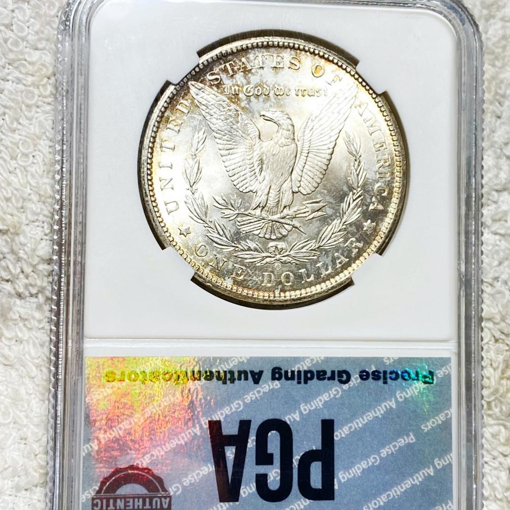 1899-O Morgan Silver Dollar PGA - MS65