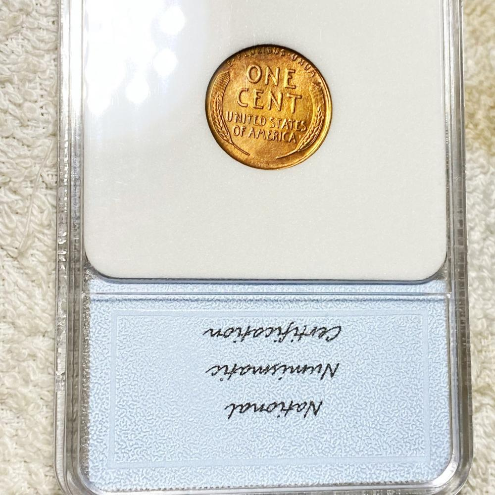 1926 Lincoln Wheat Penny NNC - MS 63 RB