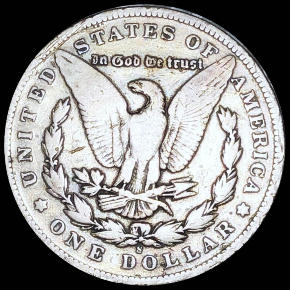 1895-S Morgan Silver Dollar NICELY CIRCULATED