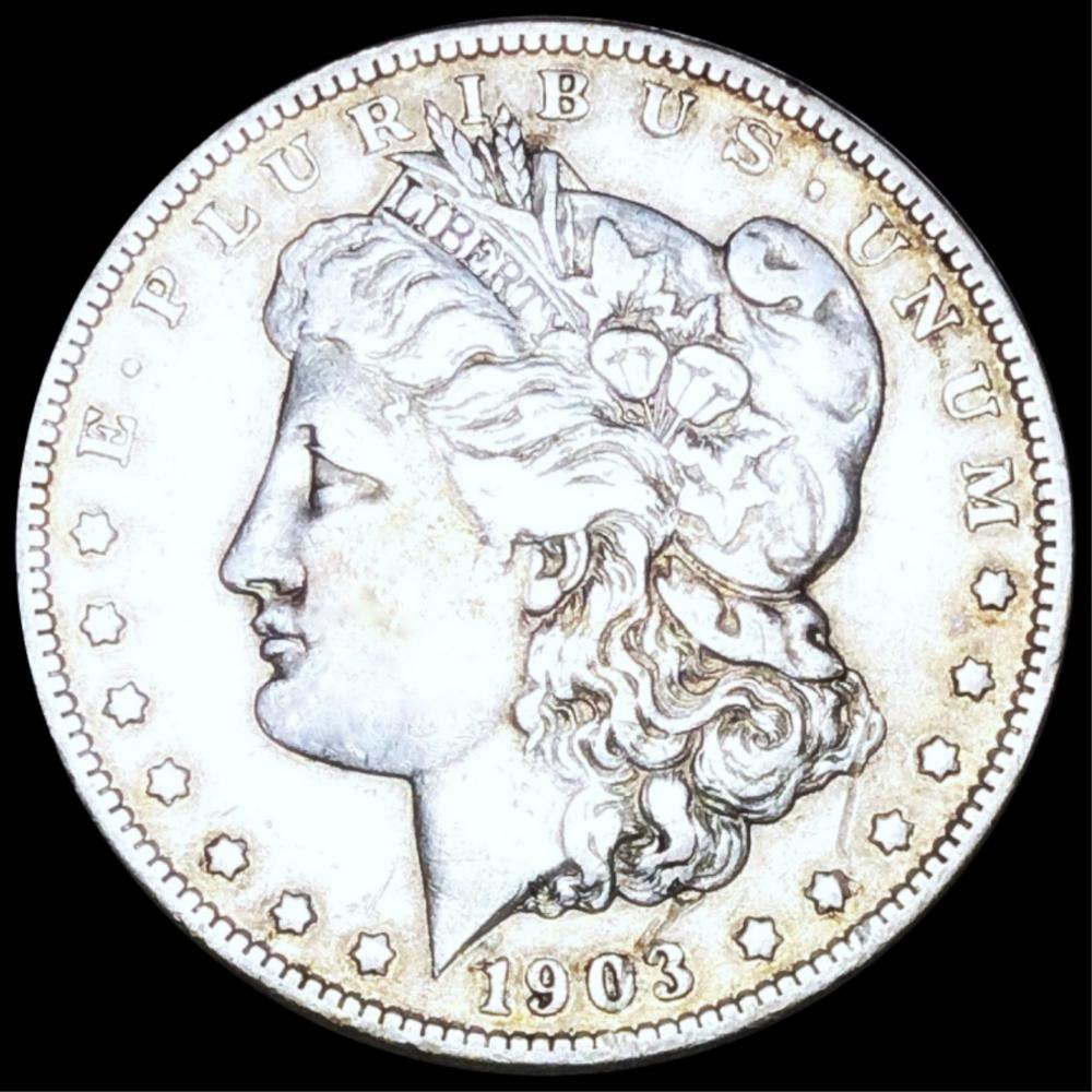 1903-S Morgan Silver Dollar LIGHT CIRC