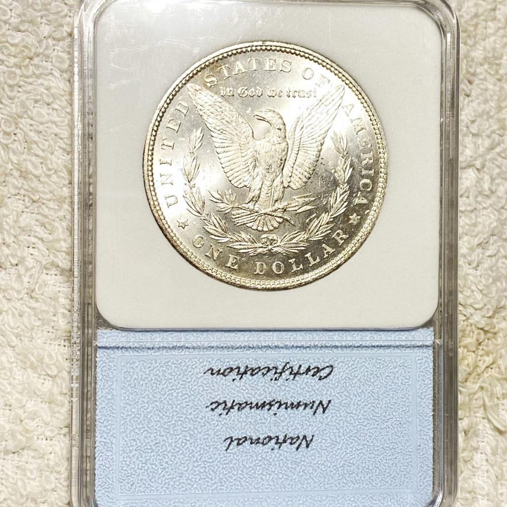 1879 Morgan Silver Dollar NNC - MS65