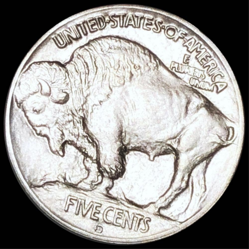 1913-D TY1 Buffalo Head Nickel UNCIRCULATED