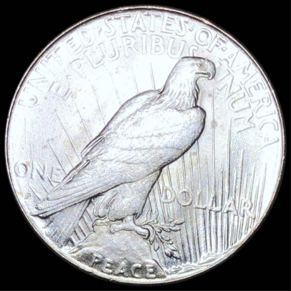1925-S Silver Peace Dollar NEARLY UNCIRCULATED