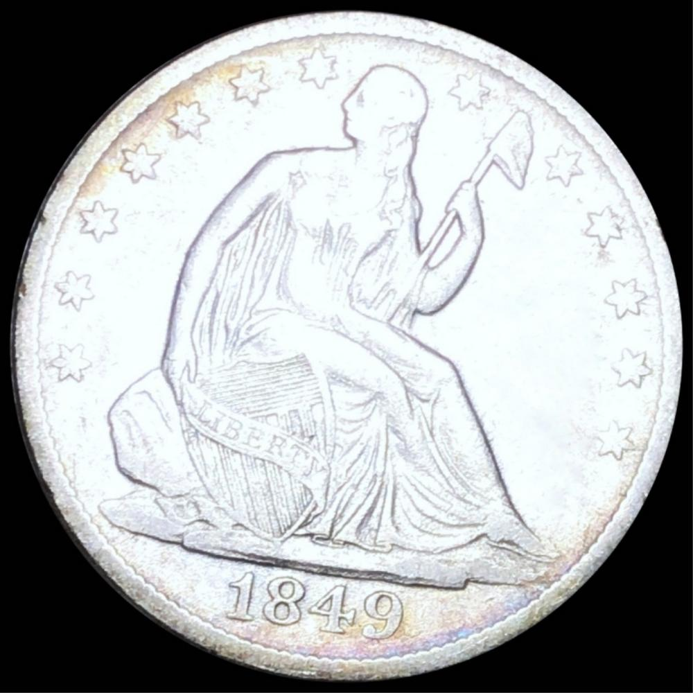1849-O Seated Half Dollar LIGHT CIRC