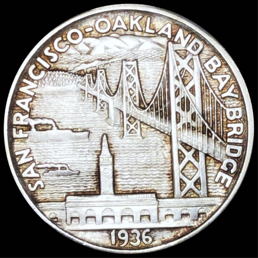 1936-S Bay Ridge Half Dollar UNCIRCULATED