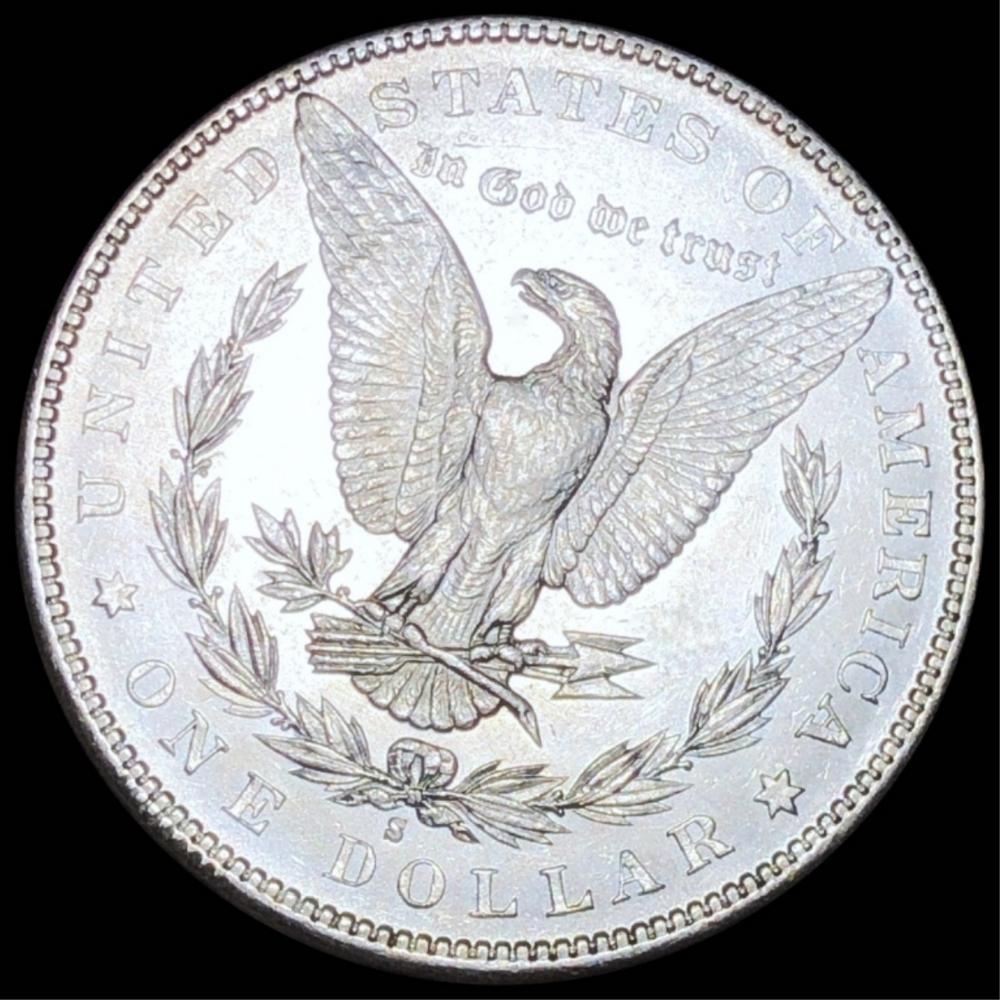1884-S Morgan Silver Dollar CHOICE BU