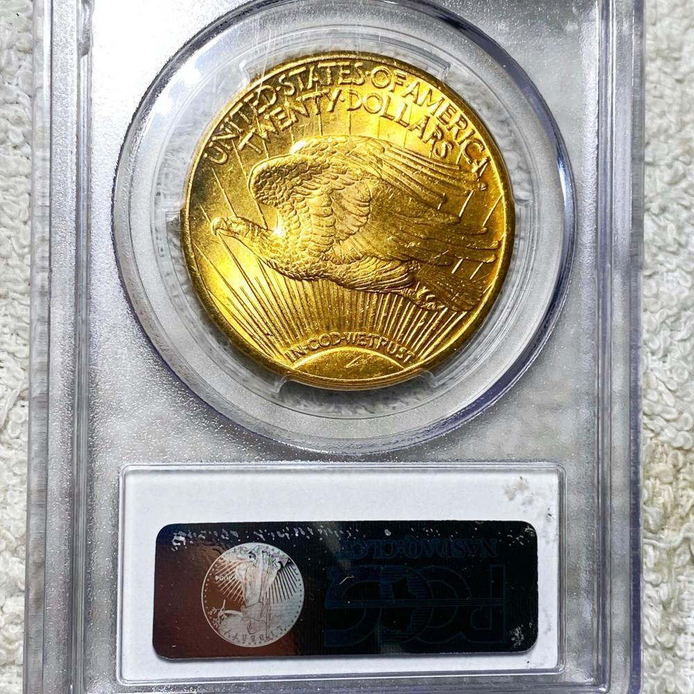 1927 $20 Gold Double Eagle PCGS - MS64+