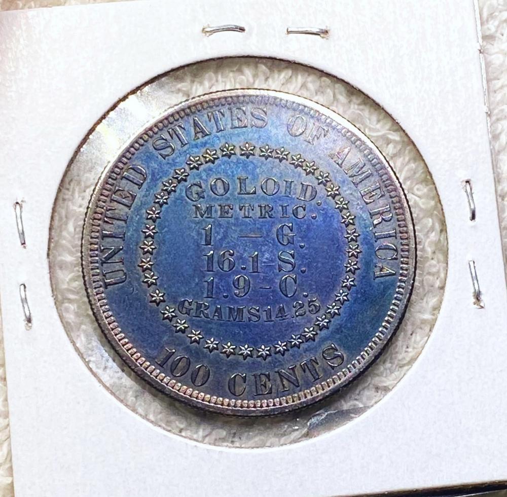 1878 Judd Pattern Silver Dollar CHOICE PR J-1563
