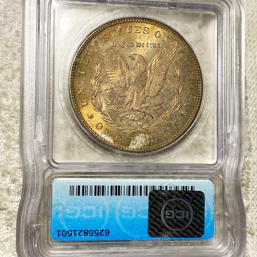 1885 Morgan Silver Dollar ICG - MS67