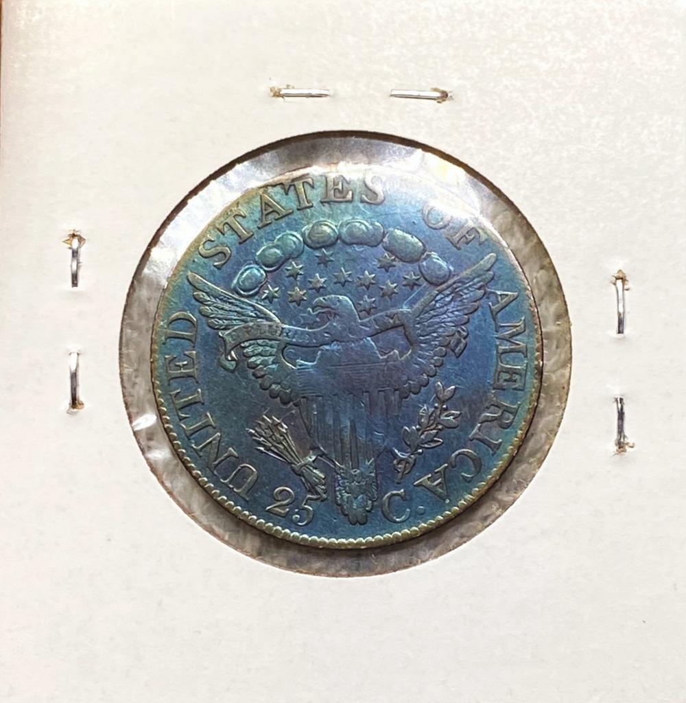 1806 Draped Bust Quarter CHOICE AU