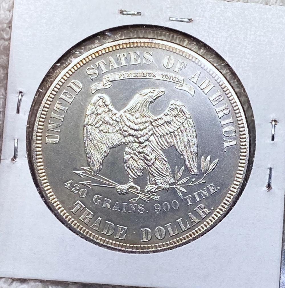 1883 Silver Trade Dollar GEM PROOF CAM