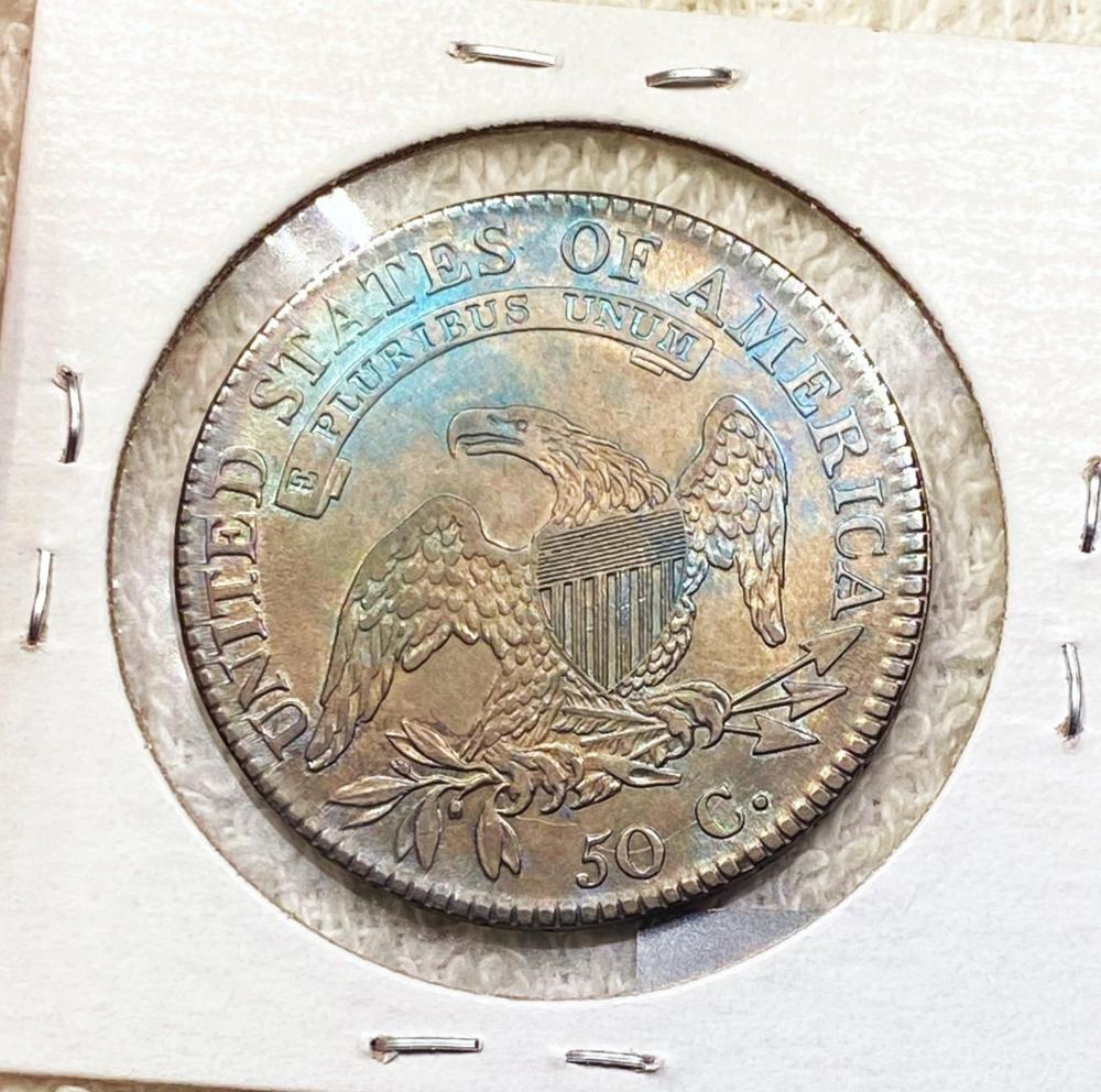 1818/7 Capped Bust Half Dollar UNCIRCULATED