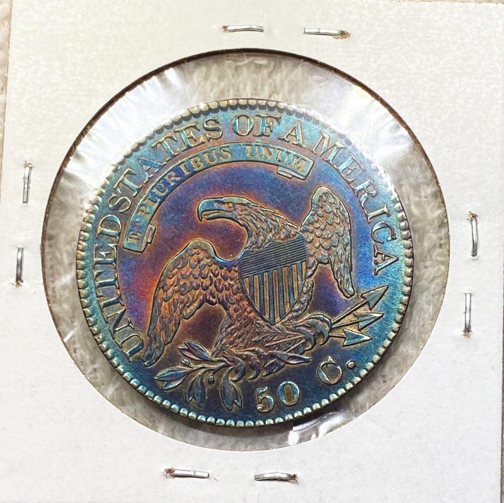 1825 Capped Bust Half Dollar GEM BU