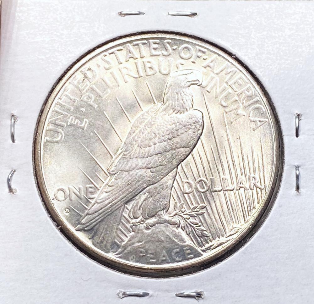 1935-S Silver Peace Dollar GEM BU