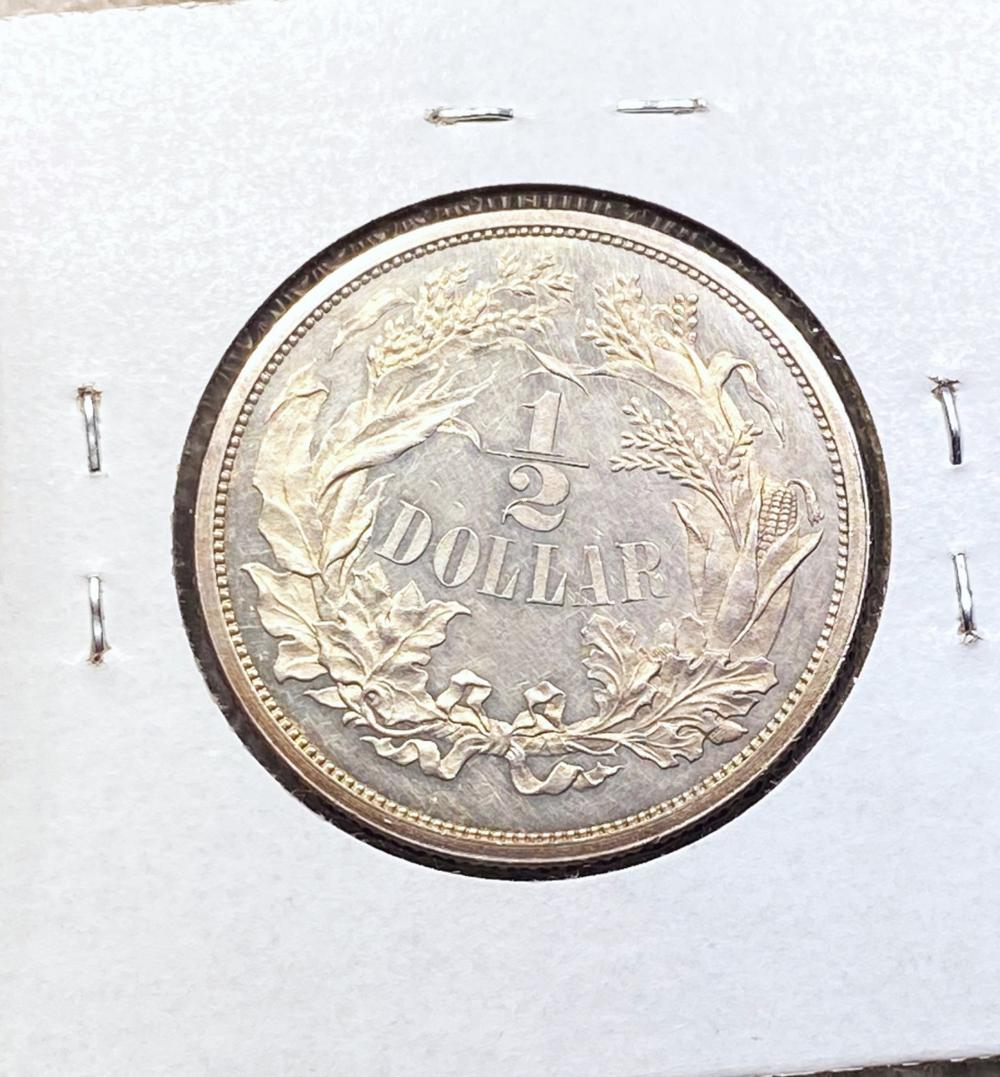 1859 Judd Pattern Half Dollar CH PR JUDD-239