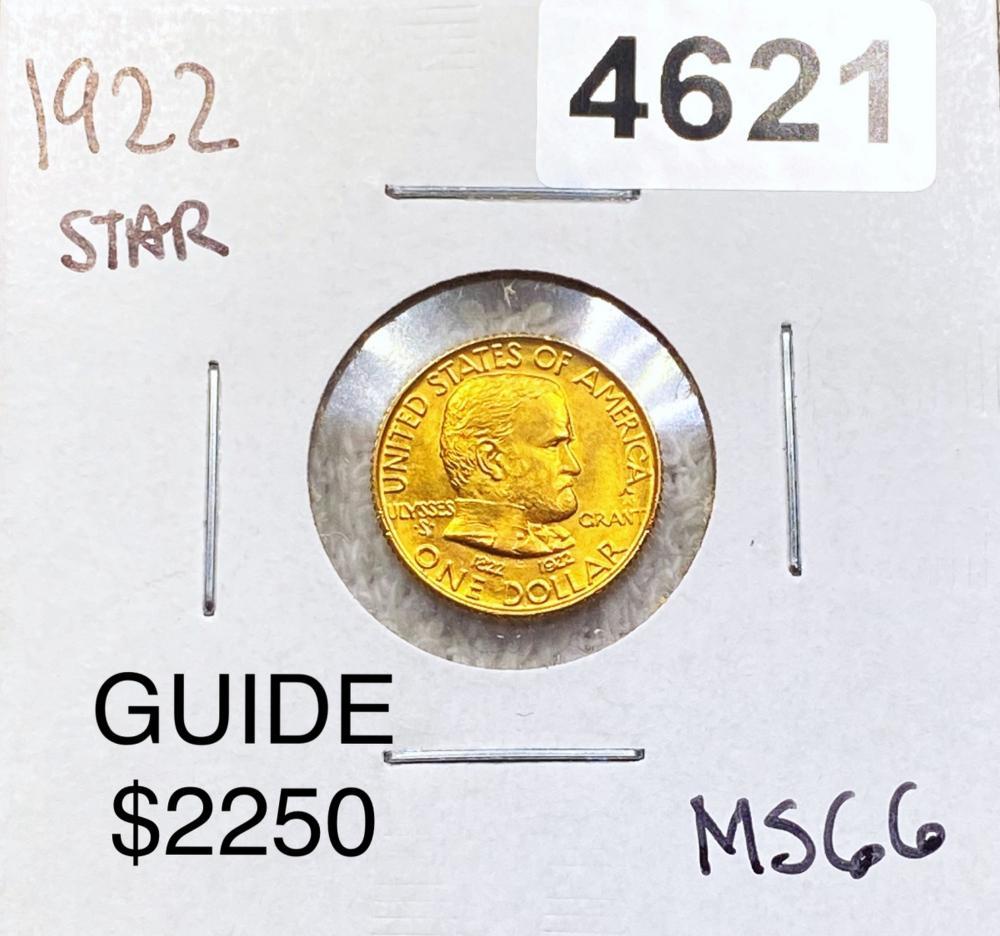 1922 Ulysses S. Grant Gold Dollar SUPERB GEM BU