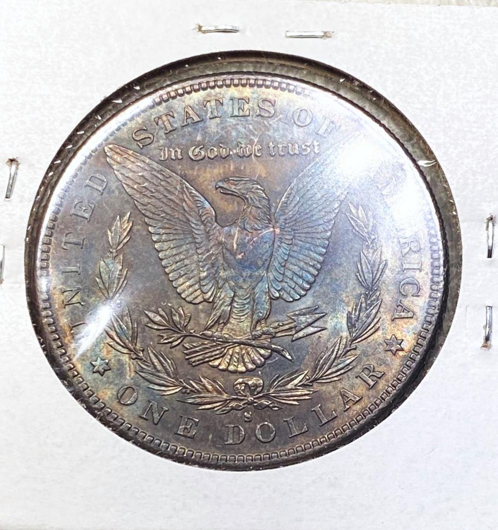1883-S Morgan Silver Dollar GEM BU