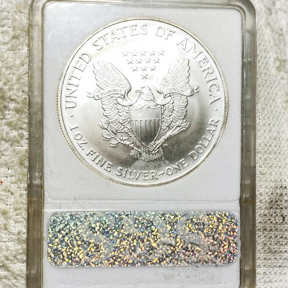 2003-W Silver Eagle SGS - MS70