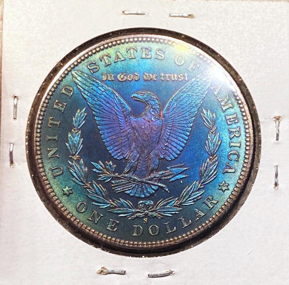 1881-S Morgan Silver Dollar SUPERB GEM BU DMPL