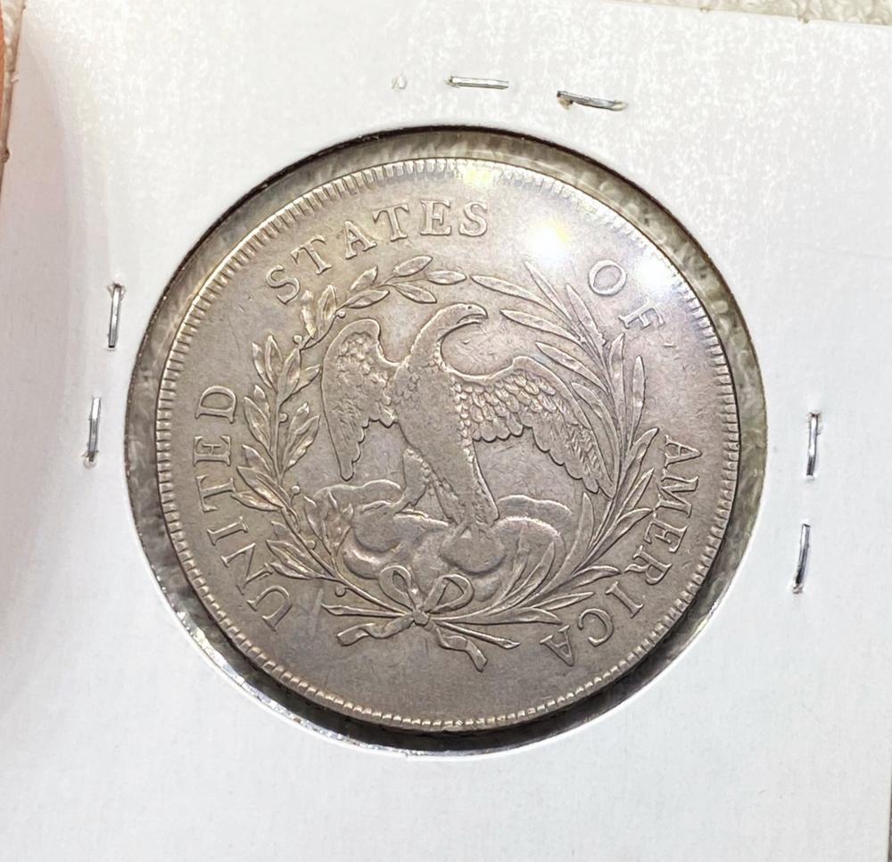 1795 Draped Bust Dollar LIGHT CIRC