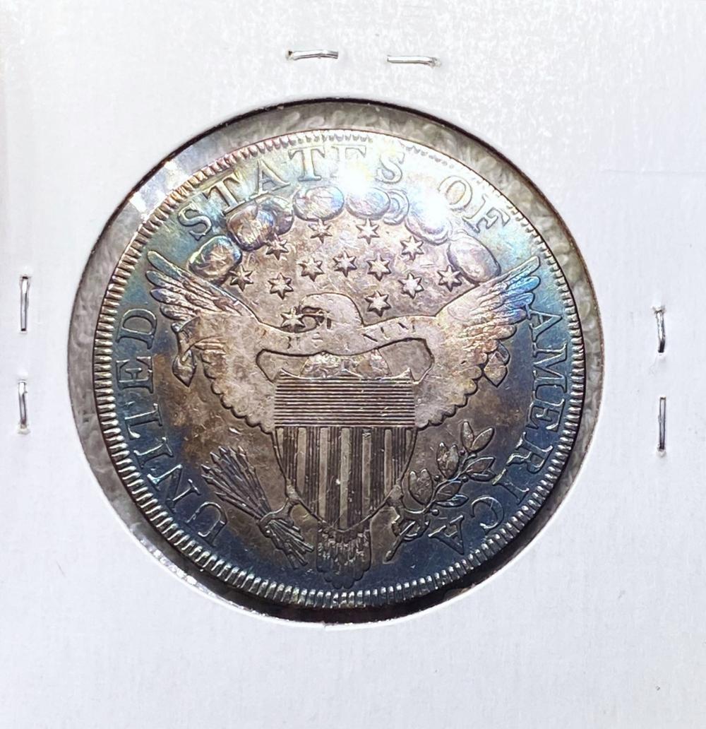 1800 Draped Bust Dollar CHOICE AU