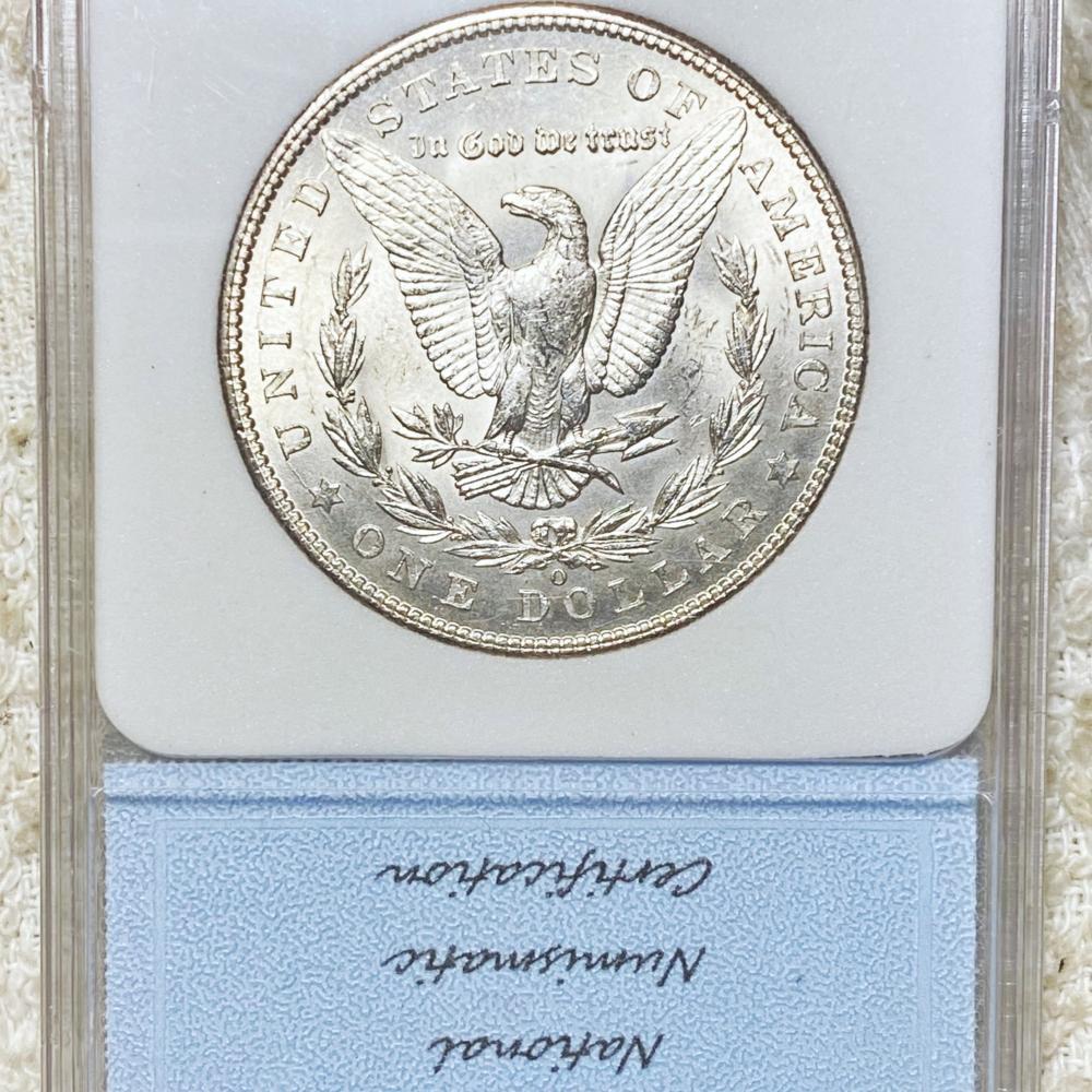 1902-O Morgan Silver Dollar NNC - MS65