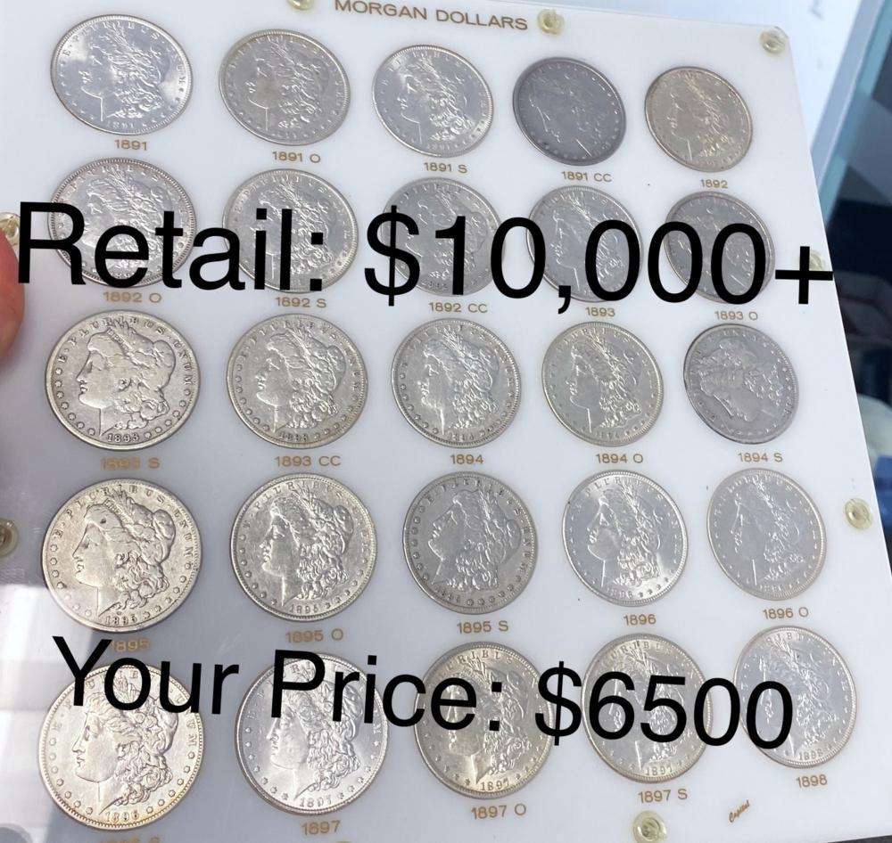 $10000 Wholesale Coin Lot Blowout Sale