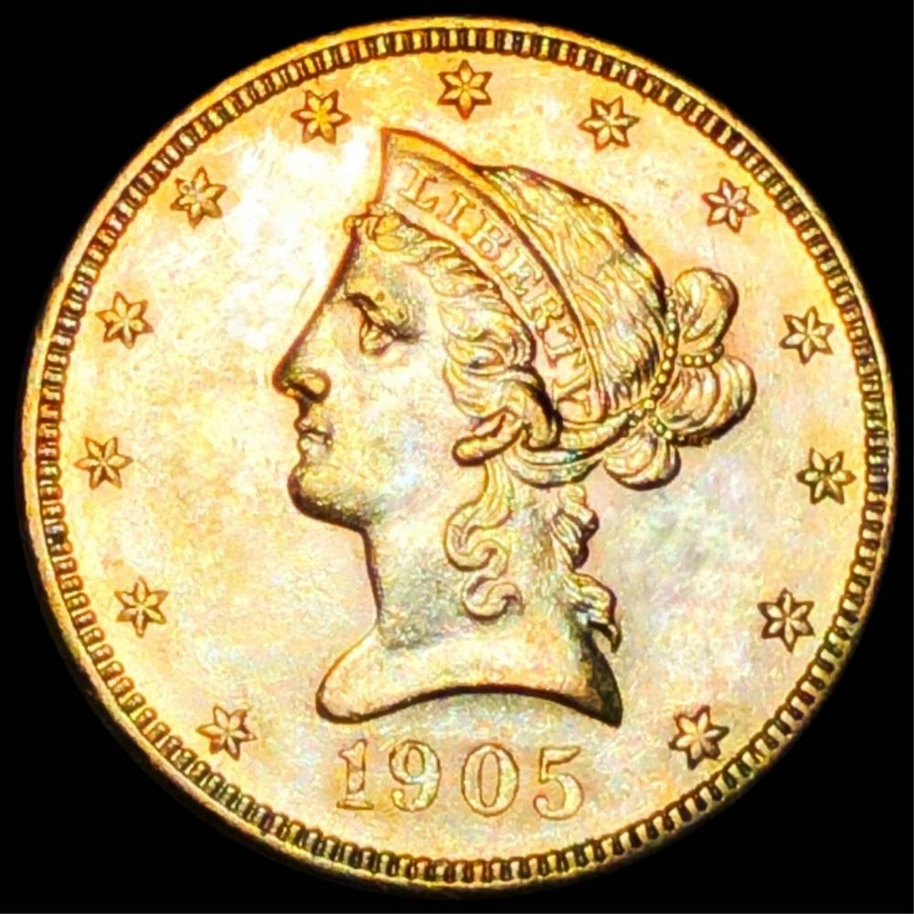 1905-S $10 Gold Eagle UNCIRCULATED